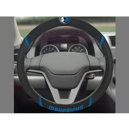 "Click here to learn more about the Dallas Mavericks Steering Wheel Cover 15""x15""."