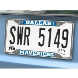 "Click here to learn more about the Dallas Mavericks License Plate Frame 6.25""x12.25""."