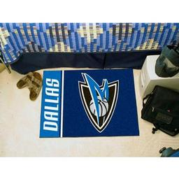 "Click here to learn more about the Dallas Mavericks Uniform Inspired Starter Rug 19""x30""."