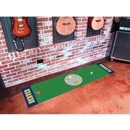Click here to learn more about the Denver Nuggets Putting Green Runner.