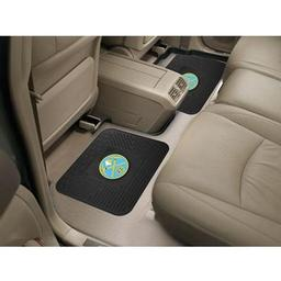 "Click here to learn more about the Denver Nuggets Backseat Utility Mats 2 Pack 14""x17""."