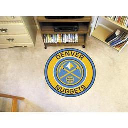 Click here to learn more about the Denver Nuggets Roundel Mat.