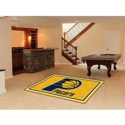 Click here to learn more about the Indiana Pacers Rug 5''x8''.