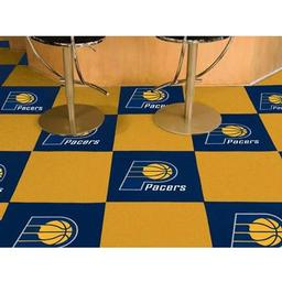 "Click here to learn more about the Indiana Pacers Carpet Tiles 18""x18"" tiles."