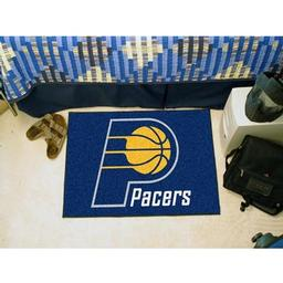 "Click here to learn more about the Indiana Pacers Starter Rug 19"" x 30""."