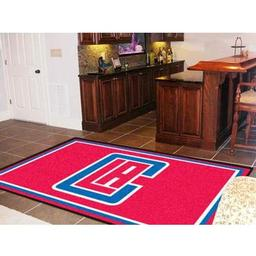 Click here to learn more about the Los Angeles Clippers Rug 5''x8''.
