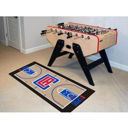 Click here to learn more about the Los Angeles Clippers NBA Court Runner 24x44.