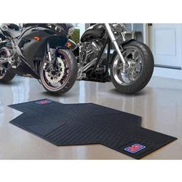 "Click here to learn more about the Los Angeles Clippers Motorcycle Mat 82.5"" L x 42"" W."