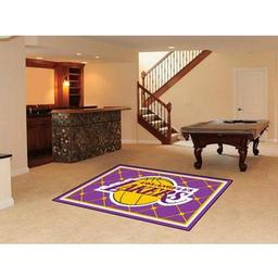 Click here to learn more about the Los Angeles Lakers Rug 5''x8''.