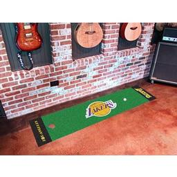 Click here to learn more about the Los Angeles Lakers Putting Green Runner.