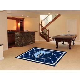Click here to learn more about the Memphis Grizzlies Rug 5''x8''.