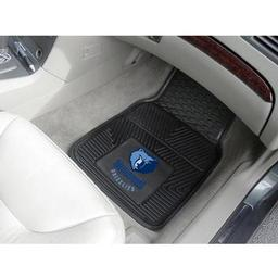 "Click here to learn more about the Memphis Grizzlies Heavy Duty 2-Piece Vinyl Car Mats 17""x27""."