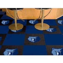 "Click here to learn more about the Memphis Grizzlies Carpet Tiles 18""x18"" tiles."