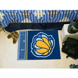 "Click here to learn more about the Memphis Grizzlies Uniform Inspired Starter Rug 19""x30""."