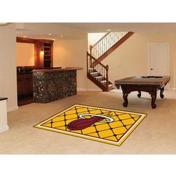 Click here to learn more about the Miami Heat Rug 5''x8''.
