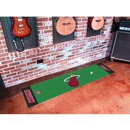 Click here to learn more about the Miami Heat Putting Green Runner.