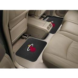 "Click here to learn more about the Miami Heat Backseat Utility Mats 2 Pack 14""x17""."