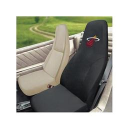"Click here to learn more about the Miami Heat Seat Cover 20""x48""."