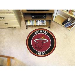 Click here to learn more about the Miami Heat Roundel Mat.