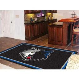 Click here to learn more about the Minnesota Timberwolves Rug 5''x8''.