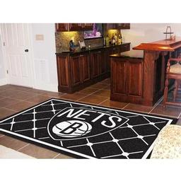 Click here to learn more about the Brooklyn Nets Rug 5''x8''.