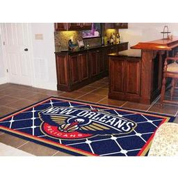 Click here to learn more about the New Orleans Pelicans Rug 5''x8''.