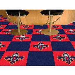 "Click here to learn more about the New Orleans Pelicans Carpet Tiles 18""x18"" tiles."