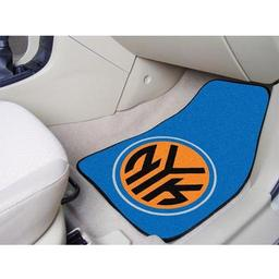 "Click here to learn more about the New York Knicks 2-piece Carpeted Car Mats 17""x27""."