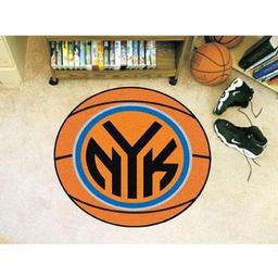 "Click here to learn more about the New York Knicks Basketball Mat 27"" diameter."
