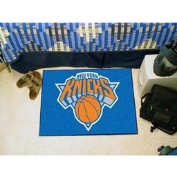 "Click here to learn more about the New York Knicks Starter Rug 19"" x 30""."