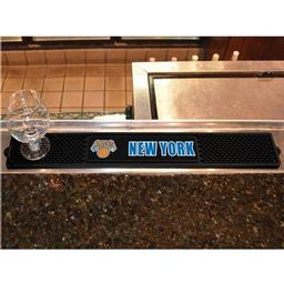 "Click here to learn more about the New York Knicks Drink Mat 3.25""x24""."