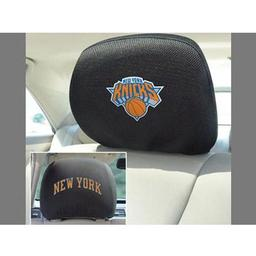 "Click here to learn more about the New York Knicks Head Rest Cover 10""x13""."