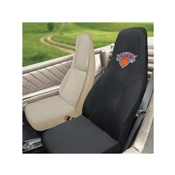 "Click here to learn more about the New York Knicks Seat Cover 20""x48""."