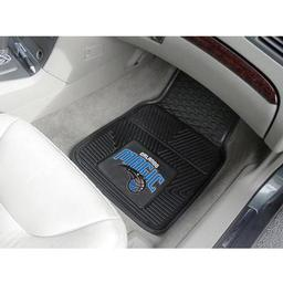 "Click here to learn more about the Orlando Magic Heavy Duty 2-Piece Vinyl Car Mats 17""x27""."