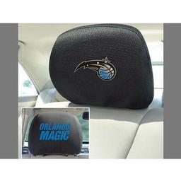 "Click here to learn more about the Orlando magic Head Rest Cover 10""x13""."