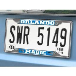 "Click here to learn more about the Orlando Magic License Plate Frame 6.25""x12.25""."