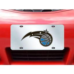 "Click here to learn more about the Orlando Magic License Plate Inlaid 6""x12""."
