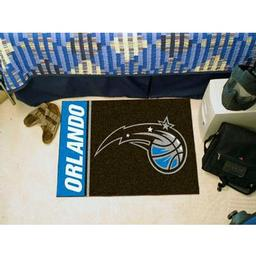 "Click here to learn more about the Orlando Magic Uniform Inspired Starter Rug 19""x30""."