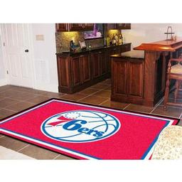 Click here to learn more about the Philadelphia 76ers Rug 5''x8''.