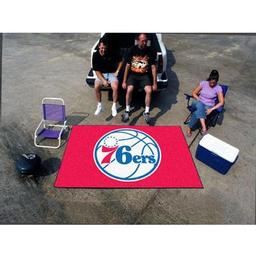 Click here to learn more about the Philadelphia 76ers Ulti-Mat 5''x8''.