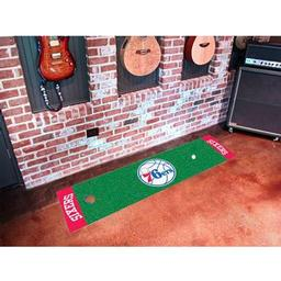 Click here to learn more about the Philadelphia 76ers Putting Green Runner.