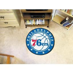 Click here to learn more about the Philadelphia 76ers Roundel Mat.