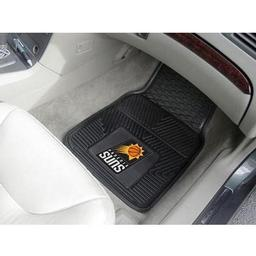 "Click here to learn more about the Phoenix Suns Heavy Duty 2-Piece Vinyl Car Mats 17""x27""."