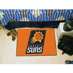 "Click here to learn more about the Phoenix Suns Starter Rug 19"" x 30""."