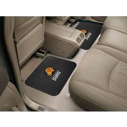 "Click here to learn more about the Phoenix Suns Backseat Utility Mats 2 Pack 14""x17""."