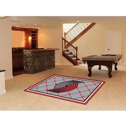 Click here to learn more about the Portland Trail Blazers Rug 5''x8''.