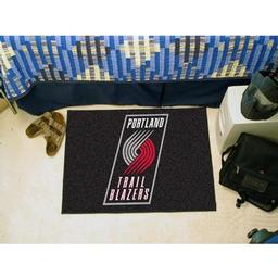 "Click here to learn more about the Portland Trail Blazers Starter Rug 19"" x 30""."
