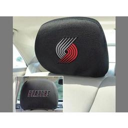 "Click here to learn more about the Portland Trail Blazers Head Rest Cover 10""x13""."