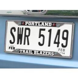"Click here to learn more about the Portland Trail Blazers License Plate Frame 6.25""x12.25""."