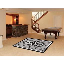Click here to learn more about the San Antonio Spurs Rug 5''x8''.